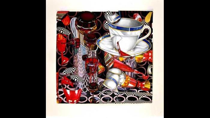 Jeanette Pasin Sloan, Blue Cup. (Courtesy Jeanette Pasin Sloan)