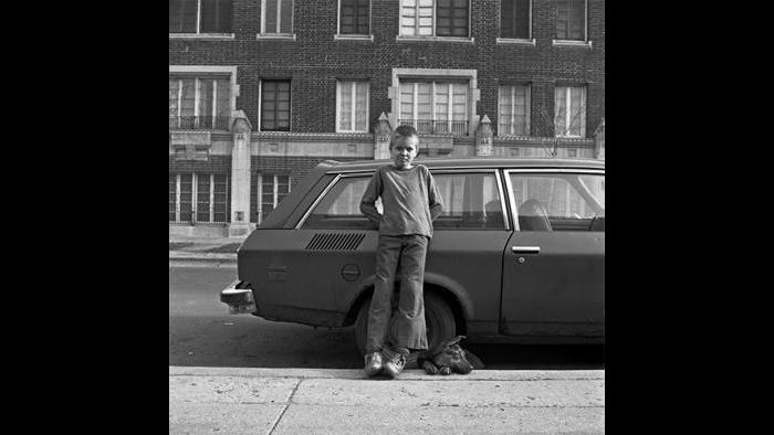 Boy with Dog, Uptown 1978/79 (David Gremp)