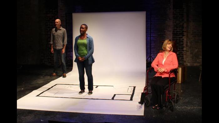 """Dave Belden, Susie Griffith and Shariba Rivers perform in """"Breathe With Me."""" (Credit: Mali Anderson)"""