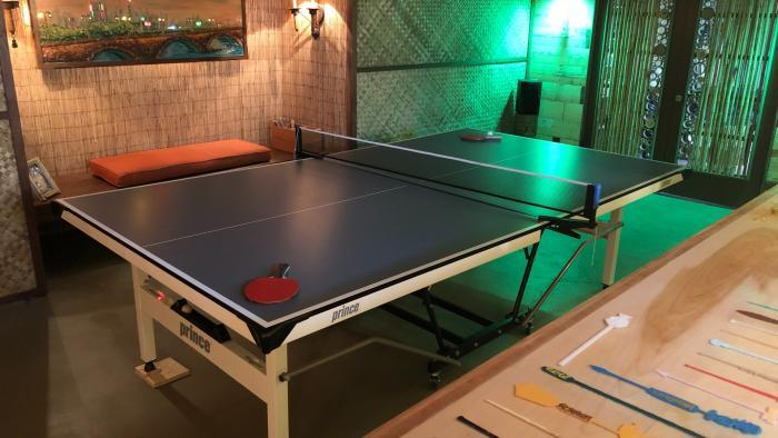 Ping pong, anyone? (Courtesy of Chicago Bungalow Association)