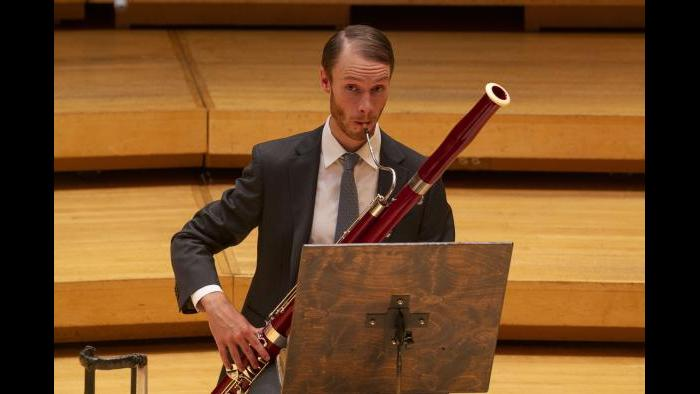 CSO Principal Bassoon Keith Buncke. (Credit: Todd Rosenberg Photography)