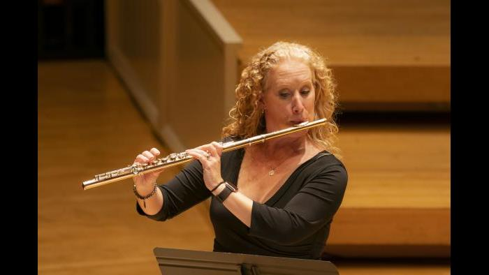CSO Flute and Piccolo Jennifer Gunn. (Credit: Todd Rosenberg Photography)
