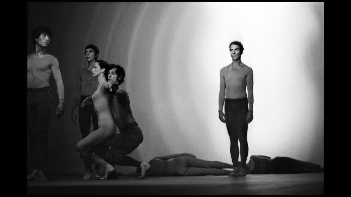 Merce Cunningham Dance Company, 1970. (James Klosty)