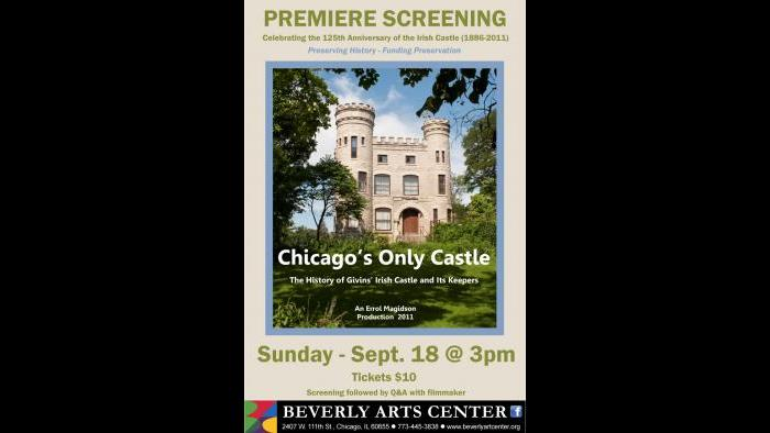 Poster for the film using an image of the castle by Lloyd DeGrane.
