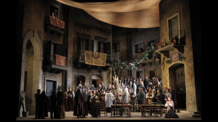 """""""Cavalleria Rusticana"""" (Dan Rest / Lyric Opera of Chicago)"""