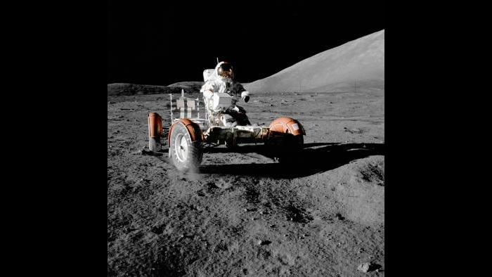 An image from the 1972 Apollo mission. (Credit: NASA)