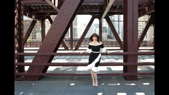 """""""Chicago Lights,"""" Kathleen Kenehan Henson (Credit: Abigail Zoe Martin)"""