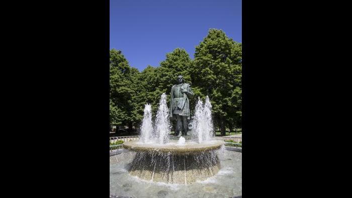 The Christopher Columbus Monument (Credit: Julia Thiel)