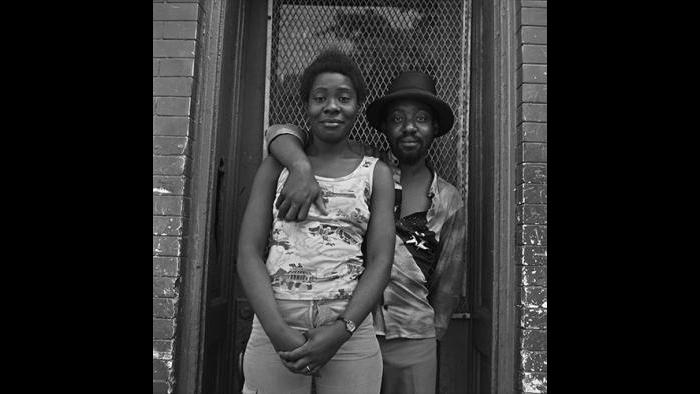 Couple on Street, West Garfield Park 1978/79 (David Gremp)