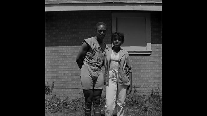 Couple, Mendel High School 1978/79 (David Gremp)