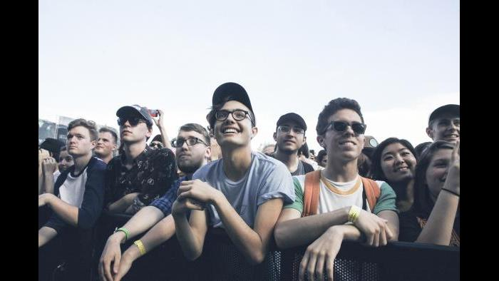 Crowds at Pitchfork 2015 (Erez Avissar / Pitchfork)