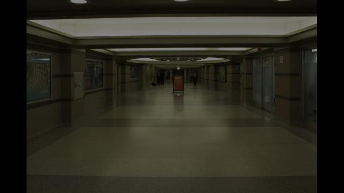 Before: Cultural Center, pedway level. (Courtesy of the Environmental Law & Policy Center)