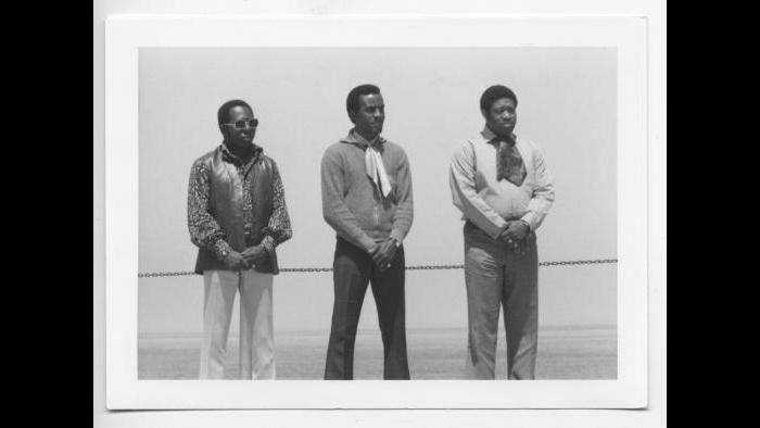 The Impressions in Los Angeles circa 1969. (Courtesy the author's collection)