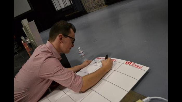 Jimmy Morrissey registers a PAC. (Kristen Thometz / Chicago Tonight)