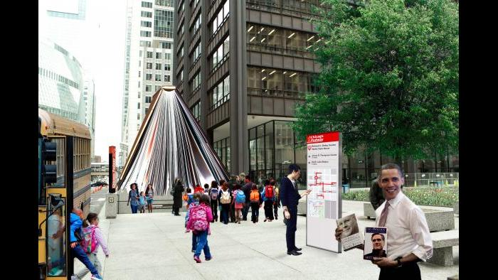 After: Daley Center, street level. (Courtesy of the Environmental Law & Policy Center)
