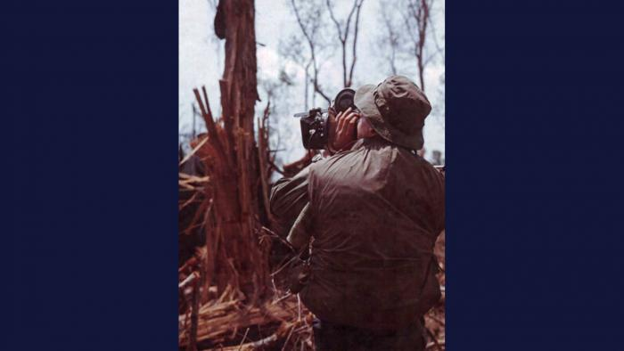 "Specialist 5 Theodore ""Ted"" Acheson, U.S. Army."