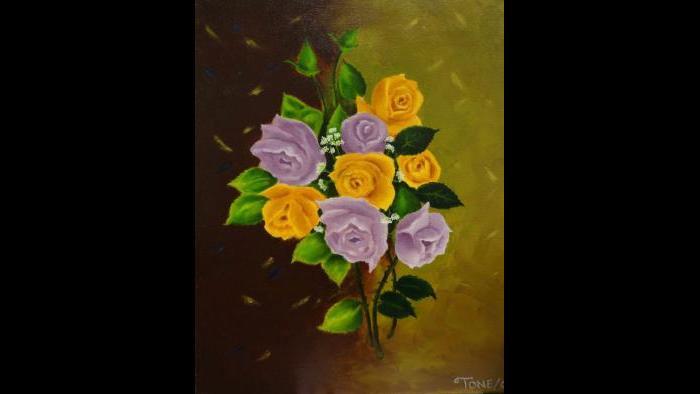 Juanita's Bouquet by Antonio Davis