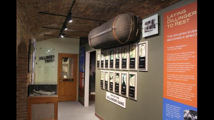 The John Dillinger Museum. (Courtesy South Shore Convention and Visitors Authority)