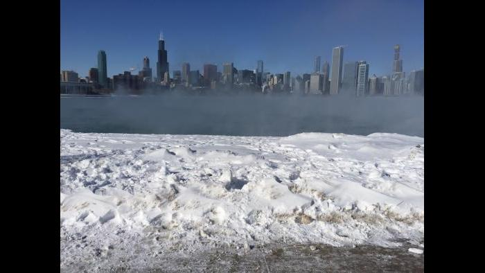 From Adler Planetarium looking toward skyline (Submitted by Eddie Arruza)