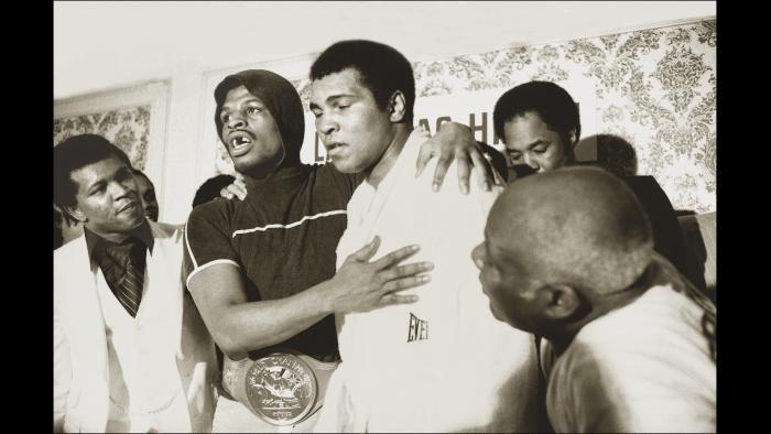 "In 1978, Ali trained lightly and suffering a shocking loss to Leon Spinks. ""I lost fair and square,"" he said after the fight. (© Michael Gaffney Photo)"