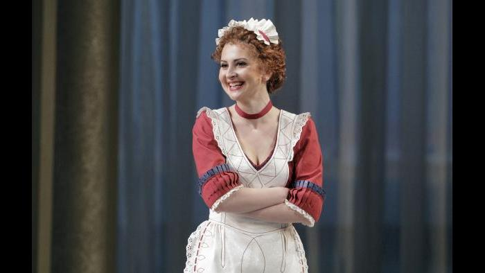 "Elena Tsallagova in ""Cosi fan tutte."" (Credit: Cory Weaver)"