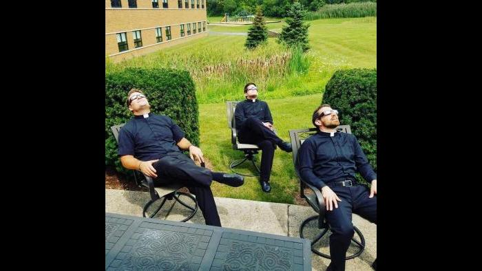 Men In Black - St. Patrick Parish, St. Charles (Submitted by: Thomas Rasmussen)