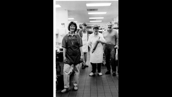 Family bakery picture. (Courtesy of Dennis Stanton)