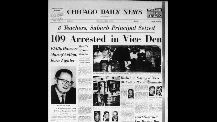 Chicago Daily News, April 25, 1964