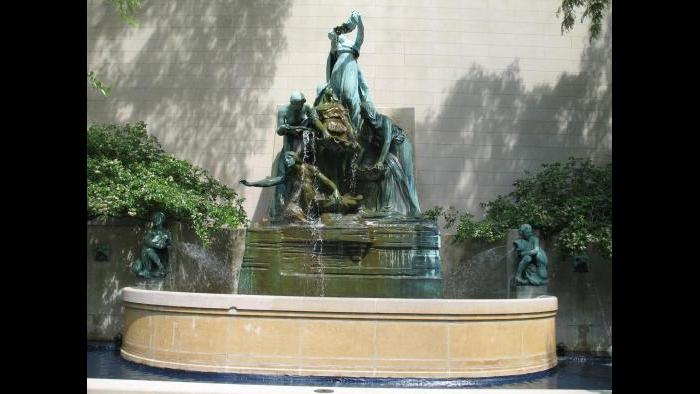 Fountain of the Great Lakes, 1913 |  Lorado Taft | Art Institute of Chicago