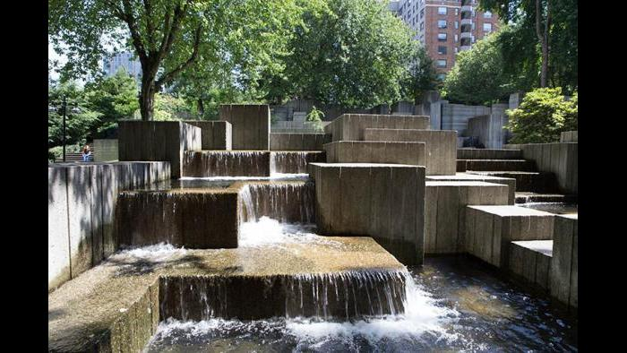 Jim Ellis Freeway Park in Seattle was built to overcome a divide in the city created by Interstate 5.
