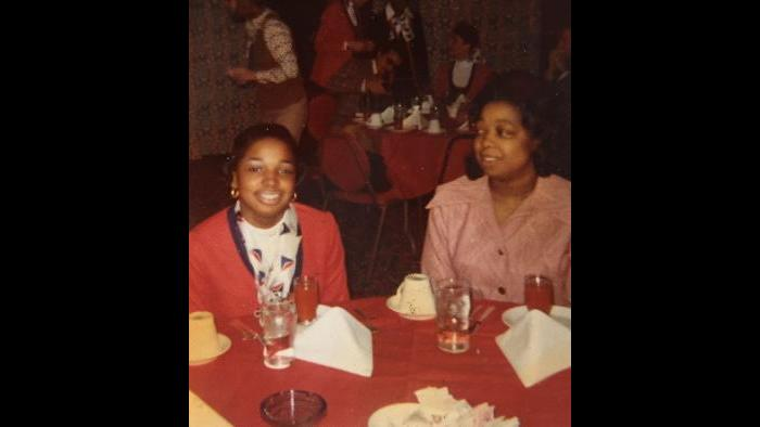 Janice Walker-Hester and her mother, Adele Tunstall.