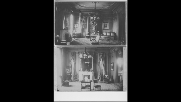 Executive Mansion, 1889 (Courtesy of Abraham Lincoln Presidential Library and Museum)
