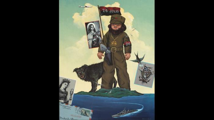 Homage to Fidel Nineteen-Fifty-Eight with Thanks to Santa Barbara, 2013 (George Klauba)