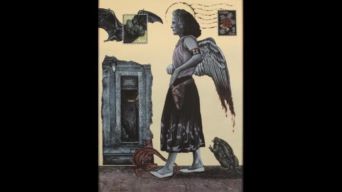 Oya's Courage As Santa Theresa Bleeds, 2014 (George Klauba)