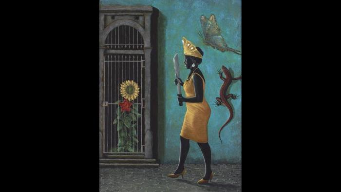 Oshun's Liberation of the Sun, 2015 (George Klauba)