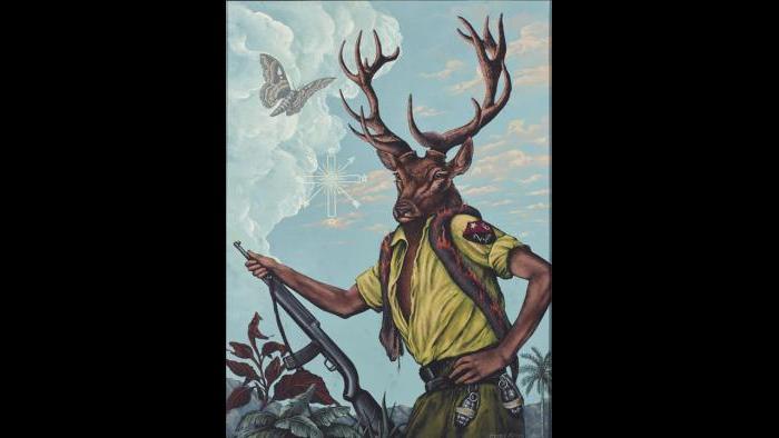 Ochosi's Purification of the Hunt, 2015 (George Klauba)