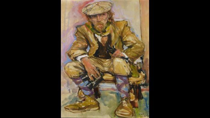 "George C. Clark, ""Grouse Hunter"" (Courtesy of George C. Clark)"