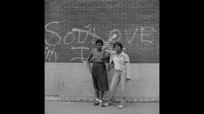 Girls in Alley, West Garfield Park 1978/79 (David Gremp)