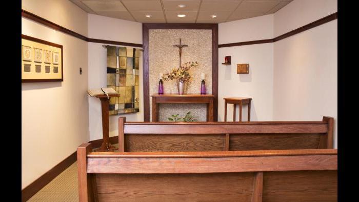Gottlieb Chapel (Courtesy Gottlieb Memorial Hospital)