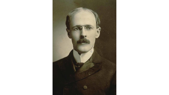 Lawyer Paul Percy Harris founded the first Rotary club in Chicago in 1905. (Courtesy Rotary International)