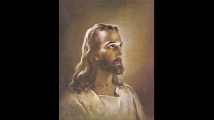 """Head of Christ"" (1940) by Warner Sallman"