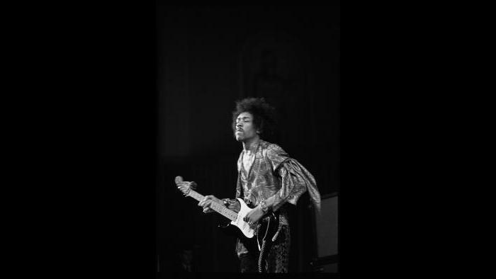 Jimi Hendrix (Photo by Dorrell Creightney)