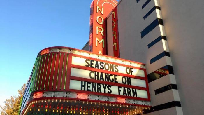 Filmmaker Ines Sommer managed to arrange a handful of screenings before the coronavirus pandemic canceled everything. (Seasons of Change on Henry's Farm / Facebook)