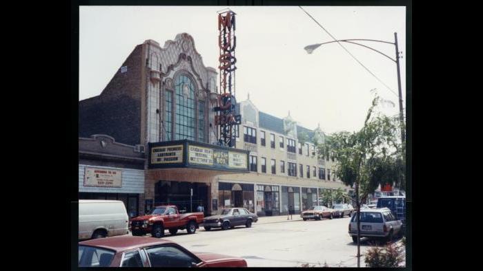 The Music Box Theatre, 1983. (Courtesy of Music Box Theatre)