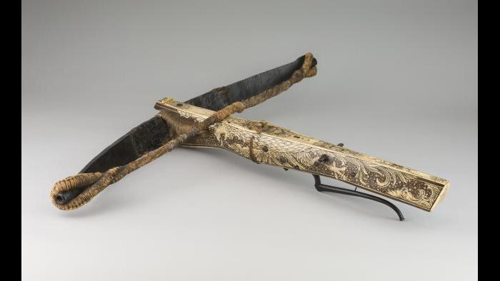 """""""Sporting Crossbow,"""" 1600. German. The Art Institute of Chicago, George F. Harding Collection."""