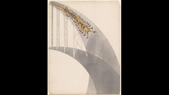 László Moholy-Nagy. Rutschbahn (Slide), 1923. The Museum of Modern Art, New York, Gift of Mrs. Sibyl Moholy-Nagy, 19.1965. © 2016 Hattula Moholy-Nagy/VG Bild-Kunst, Bonn/Artists Rights Society (ARS), New York. Digital Image © The Museum of Modern Art/Licensed by SCALA / Art Resource, NY.