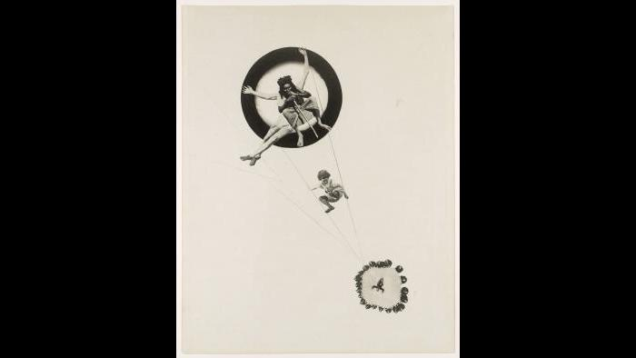 László Moholy-Nagy. Behind the Back of the Gods, 1928. The Metropolitan Museum of Art, New York, Ford Motor Company Collection, Gift of Ford Motor Company and John C. Waddell, 1987, 1987.1100.23. © 2016 Hattula Moholy-Nagy/VG Bild-Kunst, Bonn/Artists Rights Society (ARS), New York.