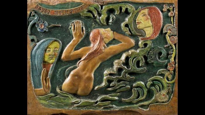 Paul Gauguin. Soyez mystérieuses (Be Mysterious), 1890. Musée d'Orsay, Paris.