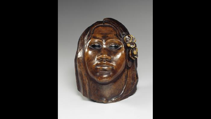 Paul Gauguin. Tehura, also called Head of Tahitian Woman or Teha'amana, about 1892. Musée d'Orsay, Paris, donation of Mme Huc de Monfreid, 1951.