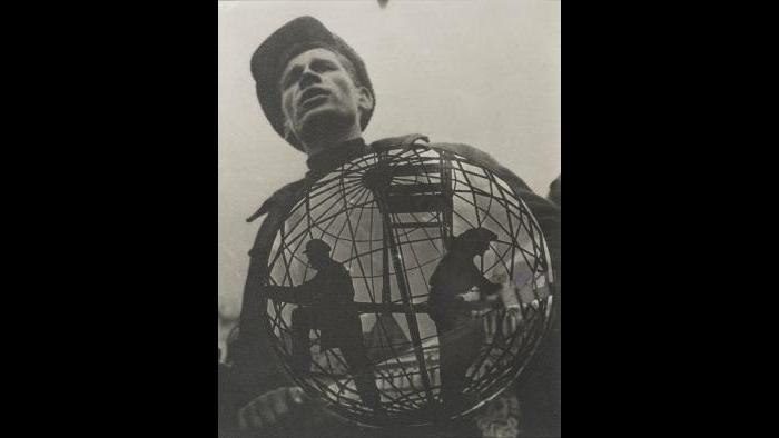 "El Lissitzky. ""Photomontage for the International Hygiene Exhibition, Dresden,"" 1930. Alex Lachmann collection."